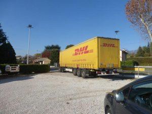 DHL partner al nostro servizio vendita cabine